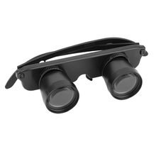 Best 3X28 Double Eye Glasses Style Outdoor Fishing Binocular Optics Glasses Fishing Binocular Magnifier Measurement Tool