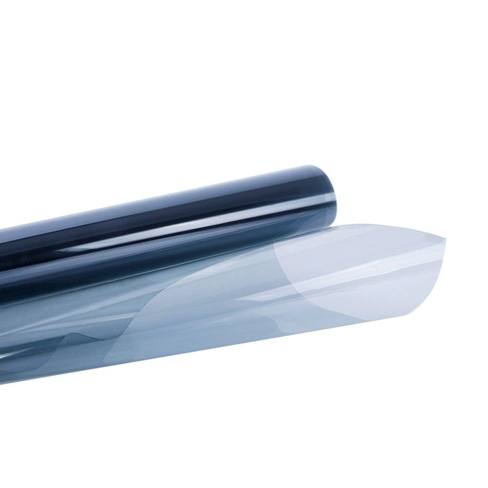 HOHOFILM 152 cm x 300 cm bleu clair 50%-75VLT Film photochromique voiture Auto maison verre autocollant fenêtre intelligente Film magique intelligent