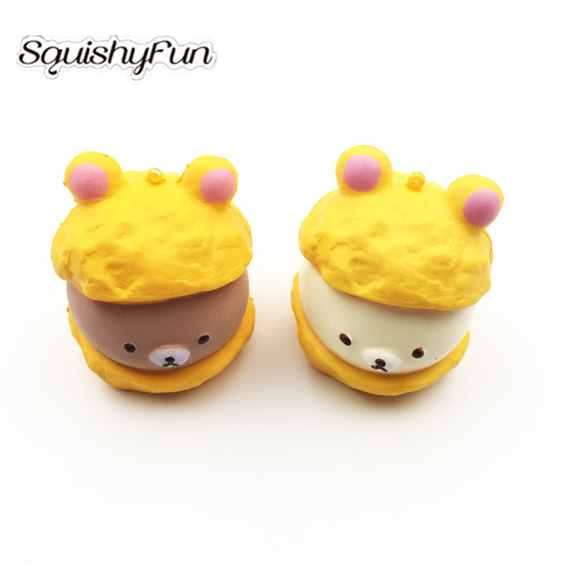 Mobile Phone Accessories Squishy Cake Dessert Macaron Squishies Slow Rising Soft Squeeze Stuffed Squishy Toys Phone Decor Charms Mobile Phone Straps#
