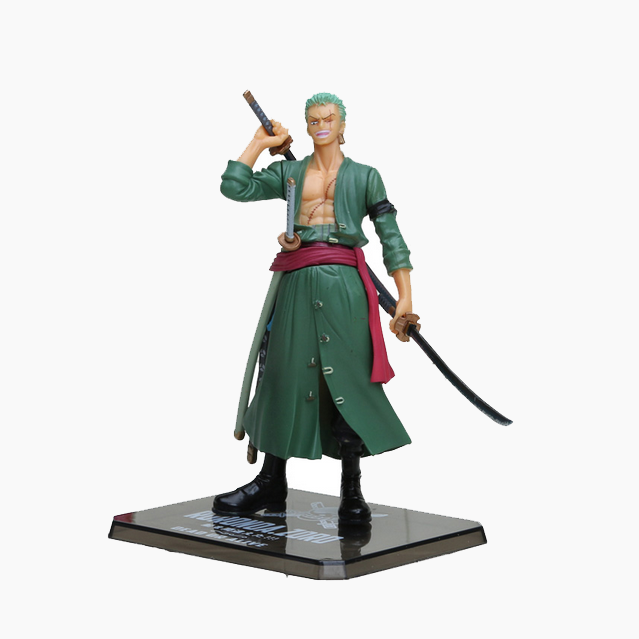Chanycore Anime ONE PIECE Cartoon Two Years Later New World Zoro 16cm Action Figures PVC onepiece toys doll model collection