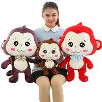 40/60 CM Weichen Lustige Gesicht Affe Puppen Angefüllte Spielzeug Kawaii TY Beanie Boos Maskottchen Geburtstag Spielzeug Neue Jahr Mädchen Geschenk BF068