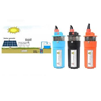 high pressure water pump 24v  70m 6.5L/min submersible dc solar water pump solar brushless water pump garden
