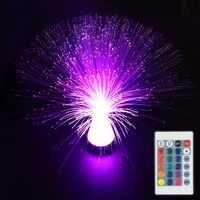 41 centimetri di larghezza luce in fibra ottica con il regolatore colorato in plastica pmma in fibra ottica a led ABS lampada di illuminazione di cristallo IL