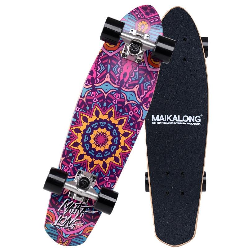 Maple Cruiser Skateboard Professional Skateboard 26 X 7