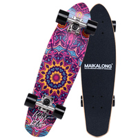 Maple Cruiser Skateboard Professional Skateboard 26 x 7 Longboard Skate board Complete for Girls Boys