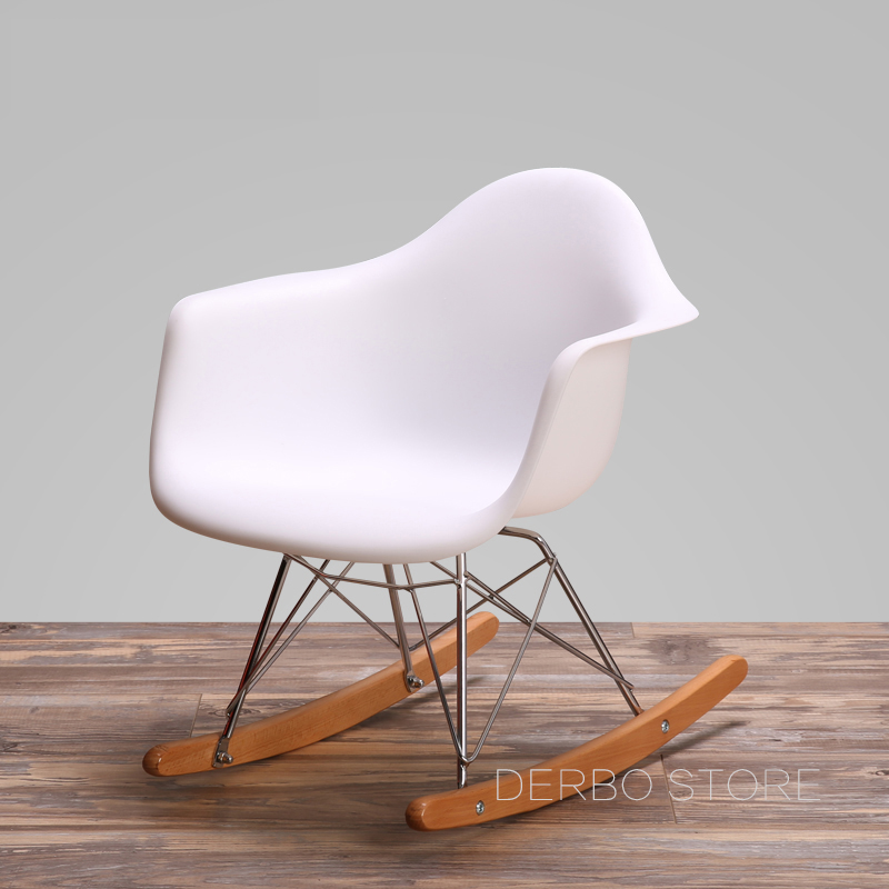 new style d81e1 8c535 US $69.0 |Modern Design Kids Rocking Chair Baby Rocker Leisure living room  furniture.Plastic fashion chair.Balcony rocking kid chair 1PC-in Children  ...