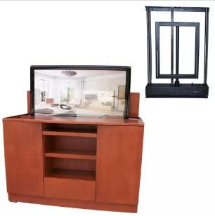 Bedroom Automationleather Bed Cabinet Furniture Tv Lift From Bed For Bed Lcd Tv Stand Can Be Lift