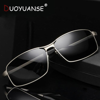 2019 Men's Polarized Sunglasses for Drivers Cool Rectangle Driving Sun Glass Fashion UV400 Eyewear Accessories for Male 8541