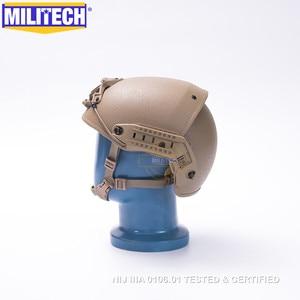 Image 4 - MILITECH M/LG CB NIJ level IIIA 3A Air Frame Aramid Bulletproof Airframe Helmet With Ballistic Test Report 5 Years Warranty