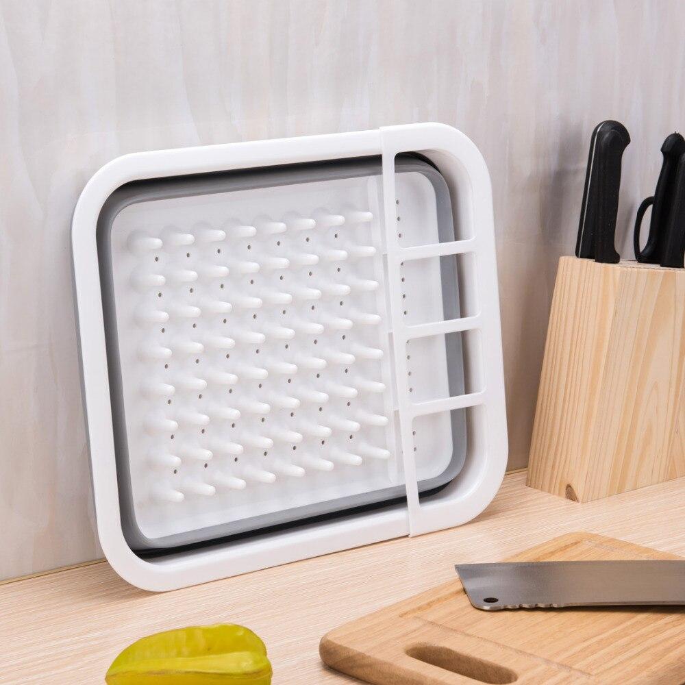 Plastic dish rack plate drying cutlery holder drainer set 100 brand new beige food kitchen storage