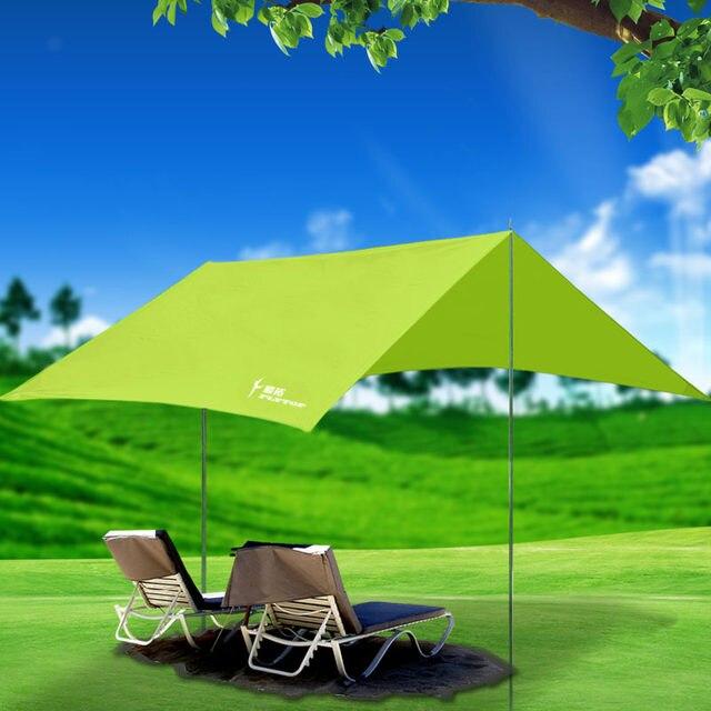 flytop grande 33 m impermeable uv sombrilla toldo parte tienda de picnic o la playa dosel corte verde - Sombrillas De Playa Grandes