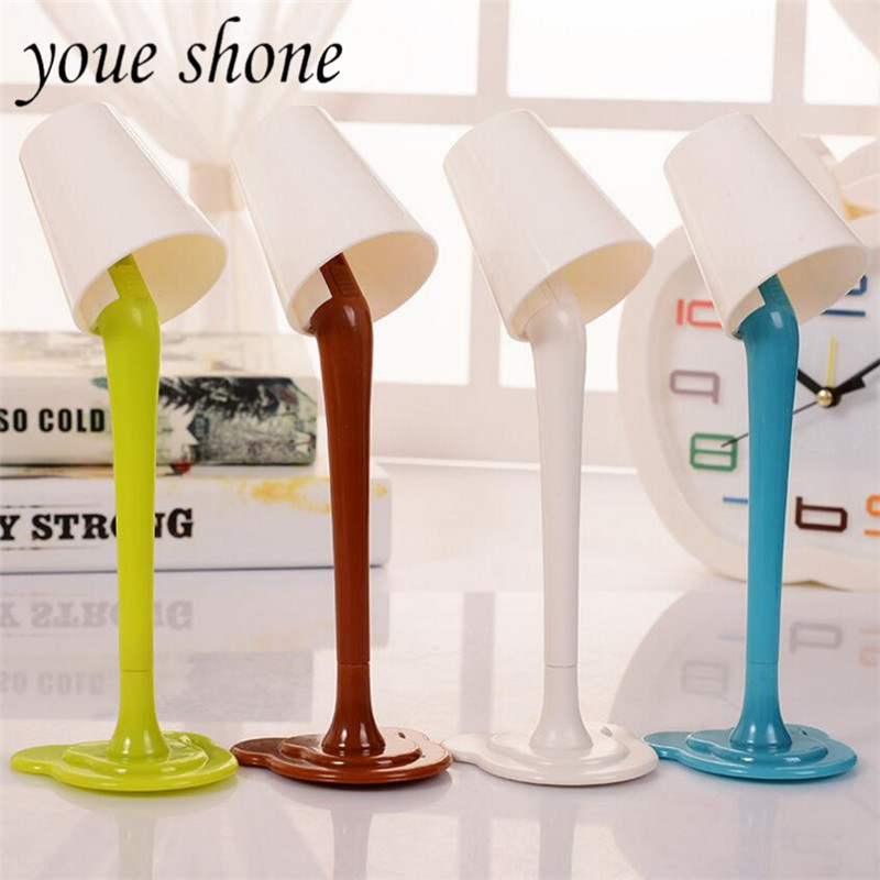 1PCS A pens Creative table lamp BallPoint pen Plastic cool Pens cute funny Stationery for shool student 0.7mm teacher present 1pcs a pens creative table lamp ballpoint pen plastic cool pens cute funny stationery for shool student 0 7mm teacher present
