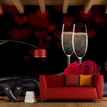 Papel de parede Holiday Roses Champagne Red rose