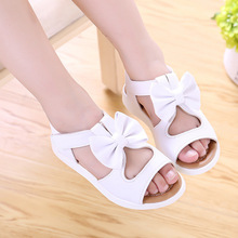 COZULMA New Kids Girls Summer Shoes Baby Girls Sandals Toddler Girls Princess Party Dress Shoes Children Bow Tie Beach Sandals 2017 summer girls sandals children princess shoes for party wedding dress dance kids toddler shoes baby flat sandals