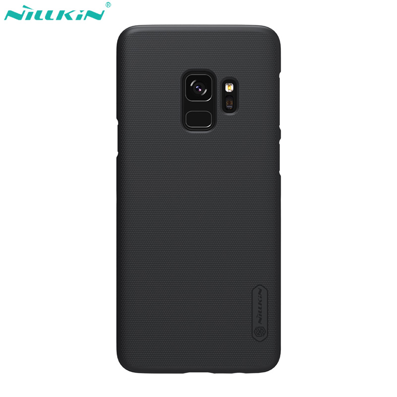 Caso Nillkin para Samsung Galaxy Tampa Do Caso S9 S10 S8 Super Escudo Fosco PC Traseira Dura Matte Capa para Samsung s8 + S9 + S10 Plus