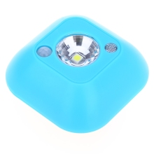 1LED Five Colors ED motion 4 5V sensor night light Mini Wireless Infrared Motion Ceiling Night