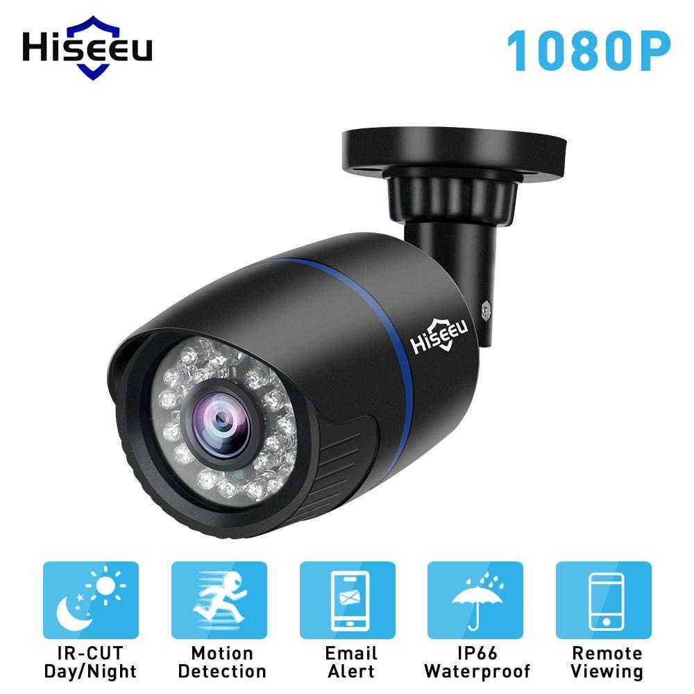 Hiseeu 1080 p 2.0MP HD Réseau CCTV IP Caméra de Surveillance Caméra Bullet H.264 P2P À Distance Onvif 2.0 À Distance vue de Portable HBD12