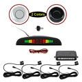 Car Parking Sensor Monitor Auto Reverse Backup Radar Detector System + LED Display + 4 Sensors + 7 Colors to Choose