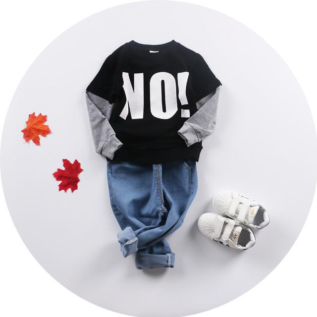 2016 OTOÑO INVIERNO bebé nununu bebé ropa de niña niños camisetas de los hoodies pullover niños ropa kikikids BEBÉ