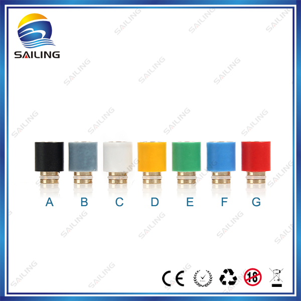 Sailing authentic font b electronic b font font b cigarette b font Teflon drip tips brass