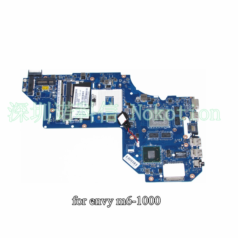 NOKOTION QCL50 LA-8711P 698399-501 698399-001 For HP ENVY M6 M6-1000 Laptop motheroard HD4000+HD 7670M 2GB nokotion 687229 001 qcl51 la 8712p laptop motherboard for hp pavilion m6 m6 1000 hd7670m ddr3 mainboard full tested