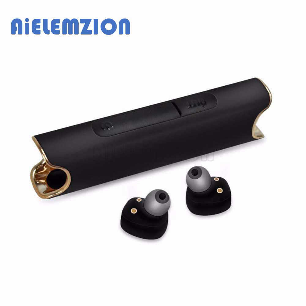 AiELEMZION <font><b>S2</b></font> <font><b>TWS</b></font> Bluetooth True <font><b>Wireless</b></font> Stereo Earphone with Microphone Portable Mini Long Standby Headsets Hands-free <font><b>Earbuds</b></font> image