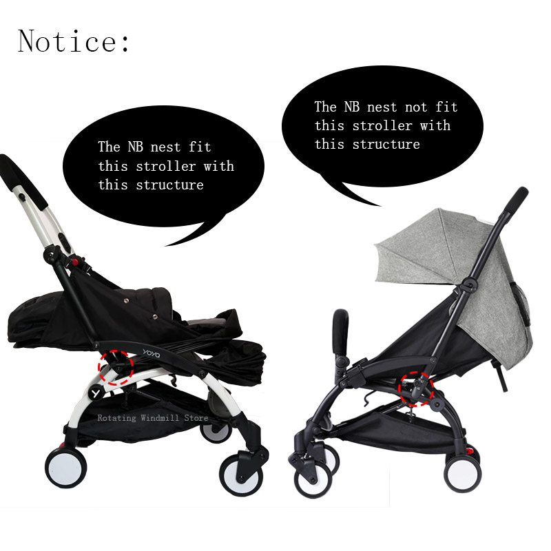 nouveau concept 3c689 e3336 Baby Stroller Birth NB Nest Sleeping Basket Stroller ...