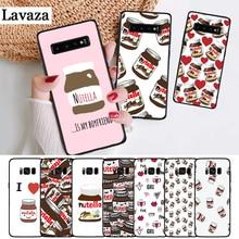 Lavaza food Chocolate Nutella Silicone Case for Samsung S6 Edge S7 S8 Plus S9 S10 S10e Note 8 9 10 M10 M20 M30 M40
