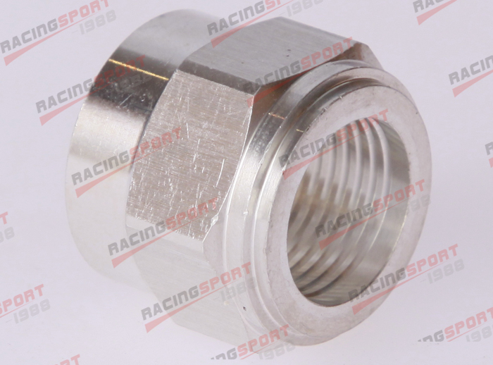 3/4 NPT Female Aluminum Weld on Bung Fitting Sensor Adapter