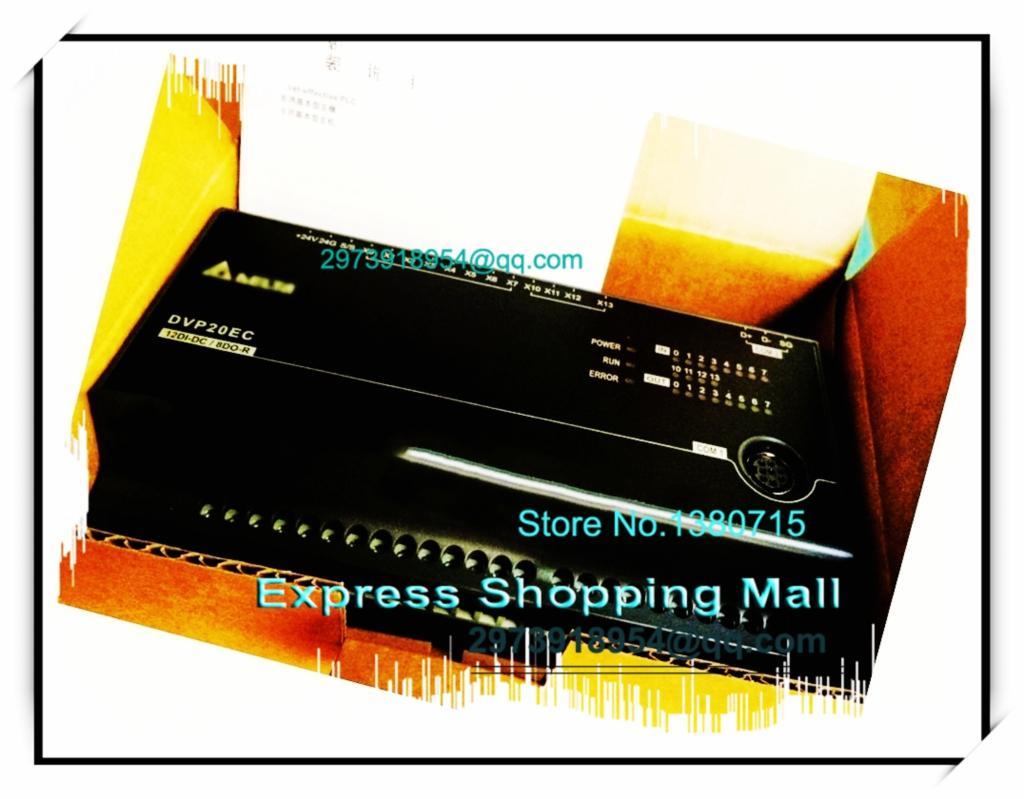 ФОТО New Original DVP20EC00T3 Delta PLC EC3 series 100-240VAC 12DI 8DO Transistor output