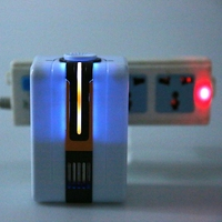 Home Negative Ionizer Generator Durable Quiet Ionizer Air Purifier With Night Light Remove Formaldehyde Smoke Dust