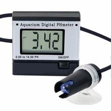 Mini Digital pH Meter Hydroponics Aquarium Swimming Pool Spa 0.00~14.00pH Range