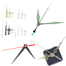 DIY Repair Part Kit Spindle Long Hands 1Set NEW Luminous Silent Quartz Wall Clock Spindle Movement Mechanism Part 6Styles(China)
