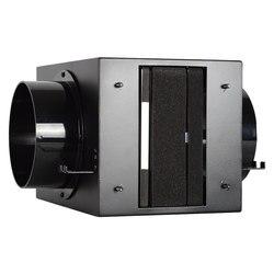 HVAC belüftung system luftreiniger metall luft reinigung box mit aktivkohle HEPA-filter PM2.5 Entferner für 150mm kanal