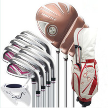 2019 womens Golf clubs Maruman SHUTTLE driver+fairway wood+Hybrid+iron+putter+Bag complete set of Graphite