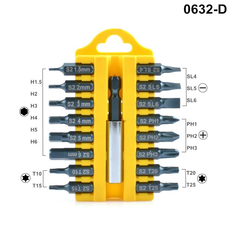 Juego de destornilladores de 17 piezas Destornillador eléctrico S2 - Herramientas manuales - foto 5