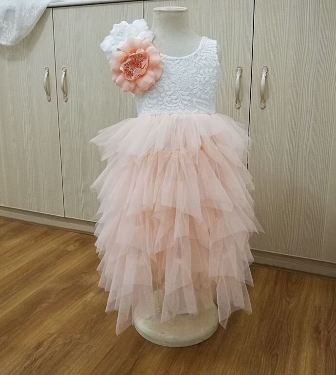 Retail ! Girls summer lace tutu long princess dresses , tutu dresses for girls , girls dresses , BBJ001