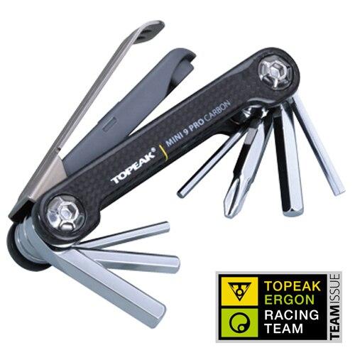 Seulement 72g pro-qualité Topeak TT2552 carbone Mini 9 Pro CB/9 muliti-fonction vélo pliant multi-outils outils de réparation ensemble