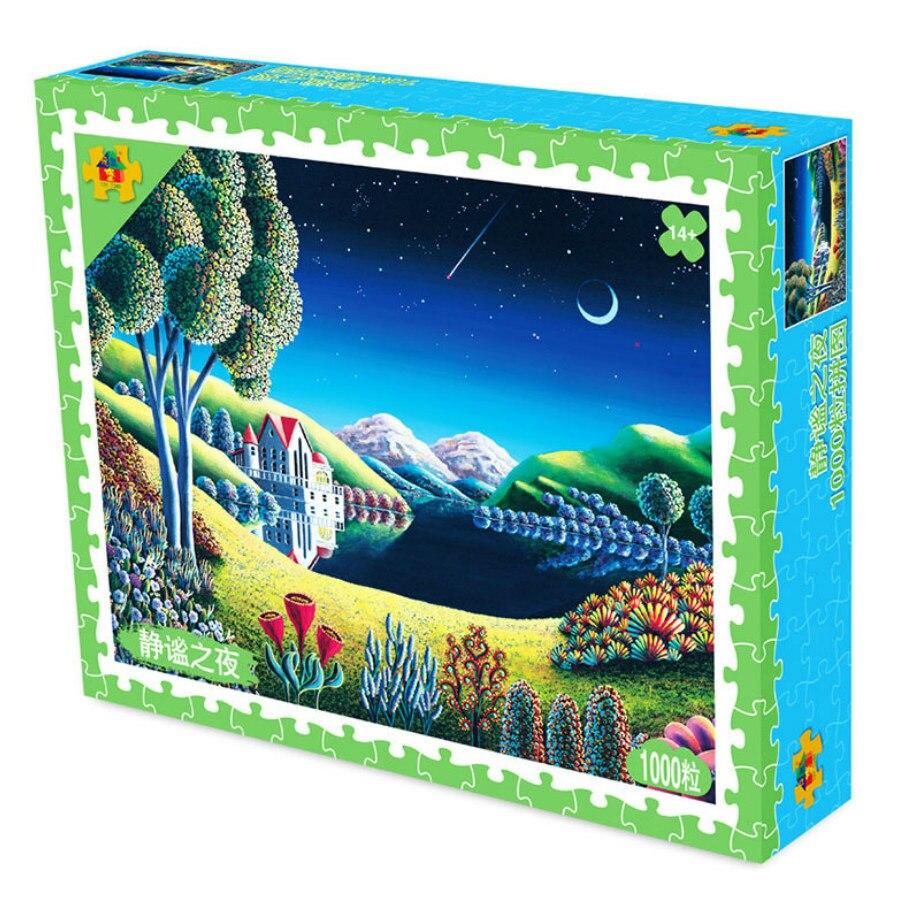 DIY Jigsaw Puzzles 1000 Даналар Ересектер үшін - Ойындар мен басқатырғыштар - фото 5