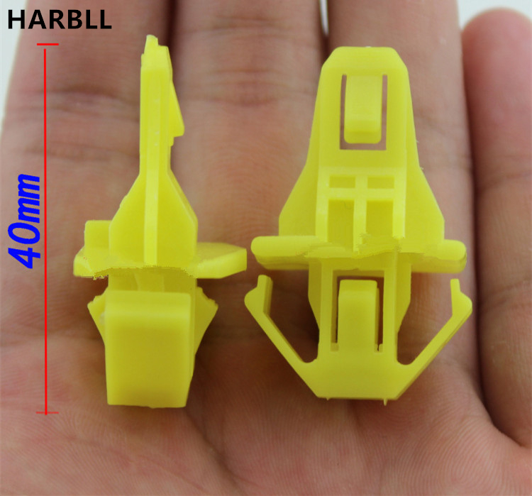 HARBLL 10PCS For Honda CRV Spirior Accord Fit plastic fasteners Air intake grille in the front bumper connection clamp clip