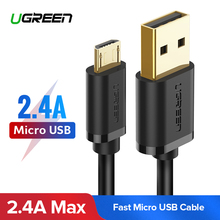 Ugreen Micro USB Cable 2 4A Fast Charging USB Data Cable Mobile Phone Charging Cable for