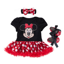 Cartoon Baby Suit Cotton Newborn Baby Girl Clothes Christmas Baby Set Roupa Infantil Bebek Giyim Infant Clothing 4Pcs Babies Set