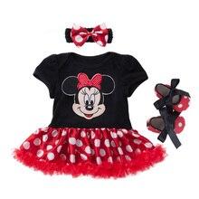 Cartoon Baby Suit Cotton Newborn Baby Girl Clothes Christmas Baby Set Roupa Infantil Bebek Giyim Infant Clothing 4Pcs Babies Set