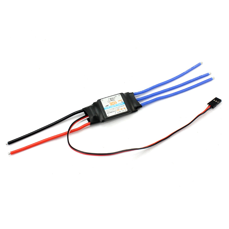 все цены на  F00177 JMT 30A Brushless ESC Speed Controller For DIY FPV RC Quadcopter Hexacopter Multi-Rotor Aircraft Trex 450 Helicopter + FS  онлайн