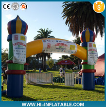 Supper quality Inflatable castle Air Arch,Inflatable Sport Arch Advertising Balloon
