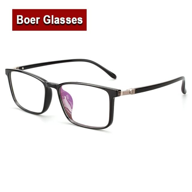 2017 New TR90 Light Weight Full Rim Men\'S Big Eye Glasses Rectangle ...
