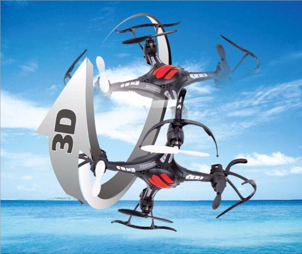 2017 New FY801 RC drone Upside Down Flight Remote Control helicopter 2 4G 4ch 6Axis mini
