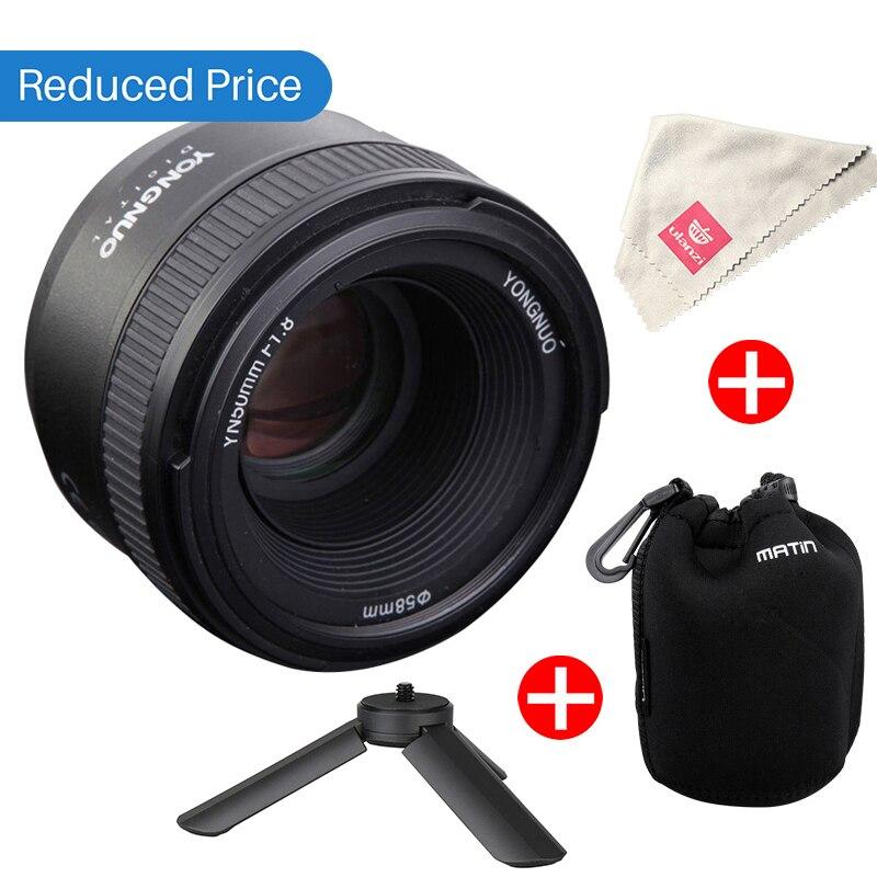 Ulanzi YONGNUO YN50MM F1.8 Lens Large Aperture Auto Focus Lens for Nikon D800 D300 D700 D3200 D3300 D5100 D5200 D5300 DSLR Camer dste dc111 en el14 battery charger for nikon d3200 d5200 d5300 df p7700 p7800 more slr cameras