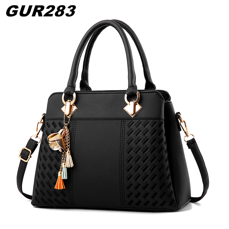 Fashion bags handbags women famous brands shoulder crossbody bag luxury designer leather bag women high quality ladies hand bags famous brands handmade women shoulder bags fashion high quality designer black leather handbags ladies knitting messenger bag b