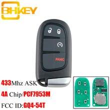 Bhkey gq4 54t Автомобильный Дистанционный ключ без ключа для